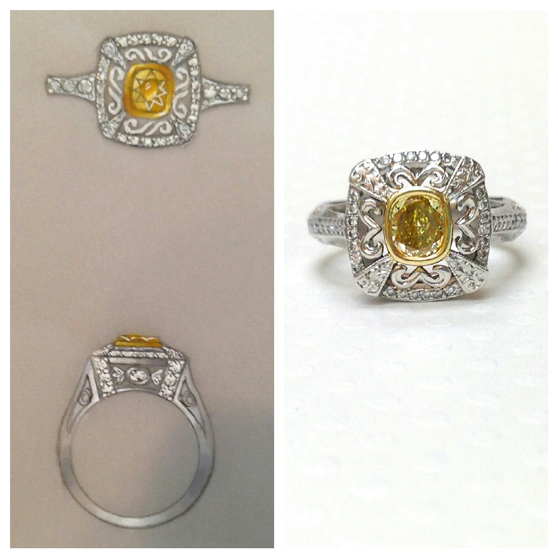 design custom ring - maytal hannah